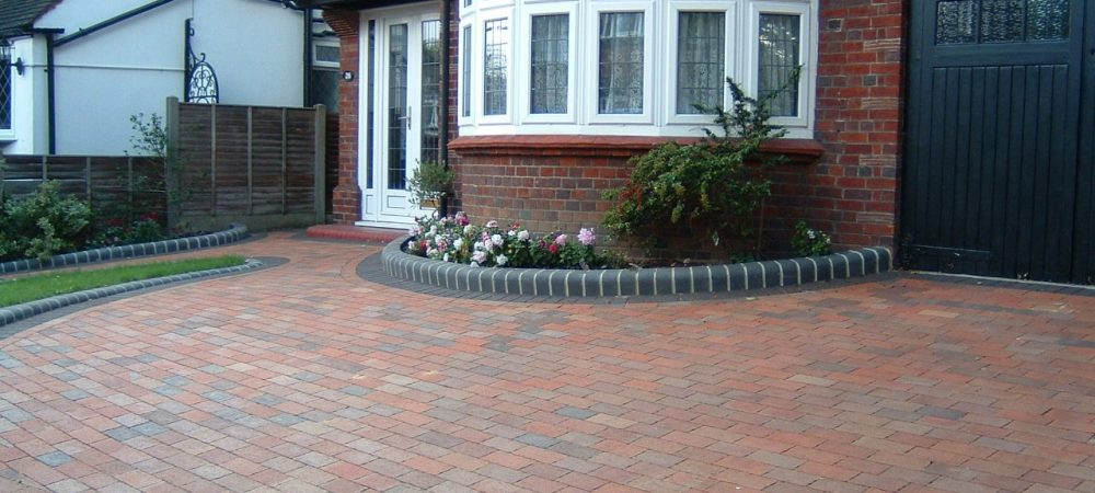 Clay Pavers Driveway from Diamond Services