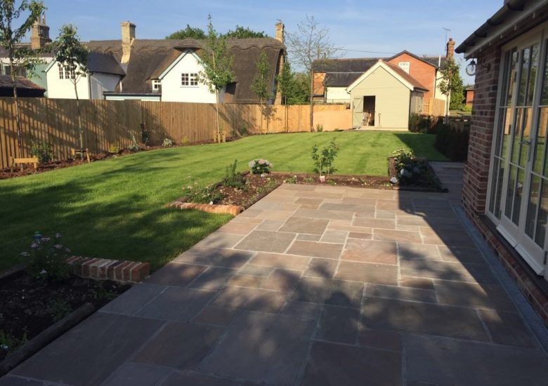 Natural Stone Driveway by Diamond Services