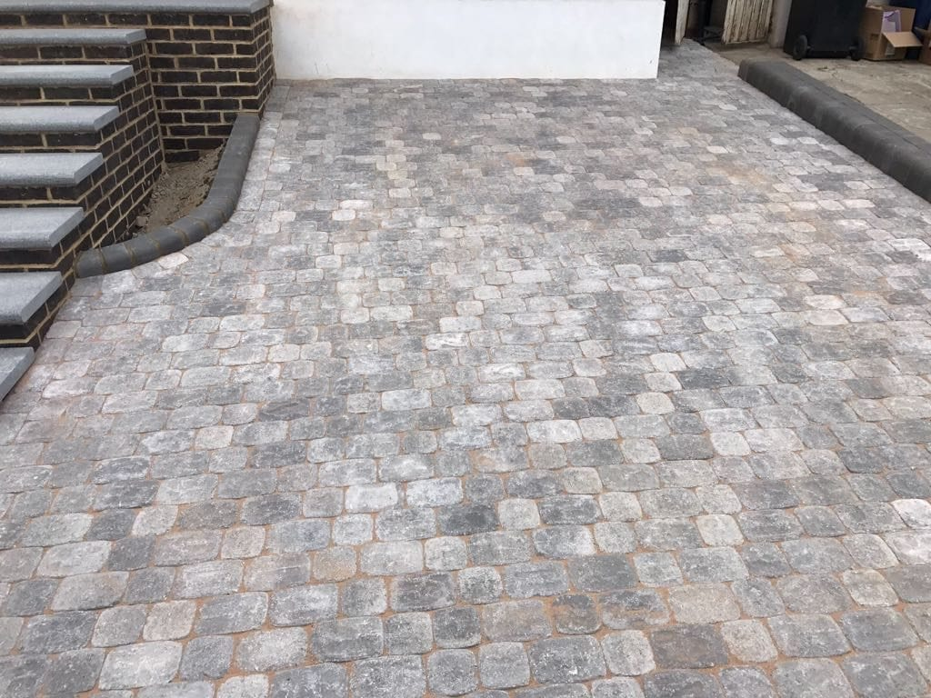 Round Edged Block Paving By Diamond Driveways