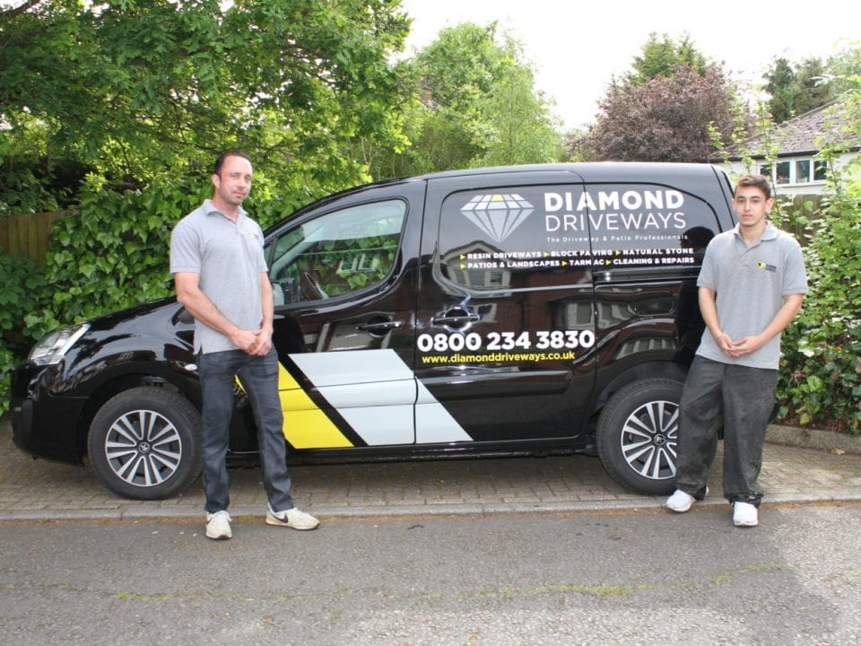 diamond driveway cleaning and repairs
