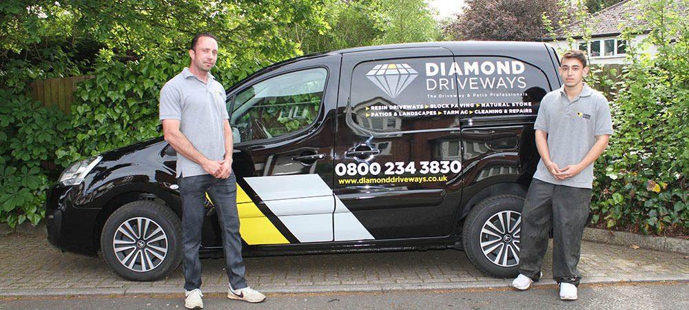 driveway cleaning repairs diamond driveways