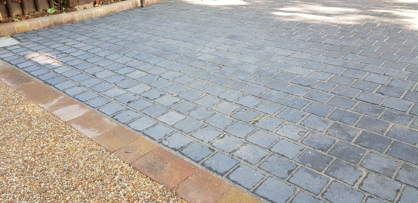 driveway middlesex diamond driveways mixed granite