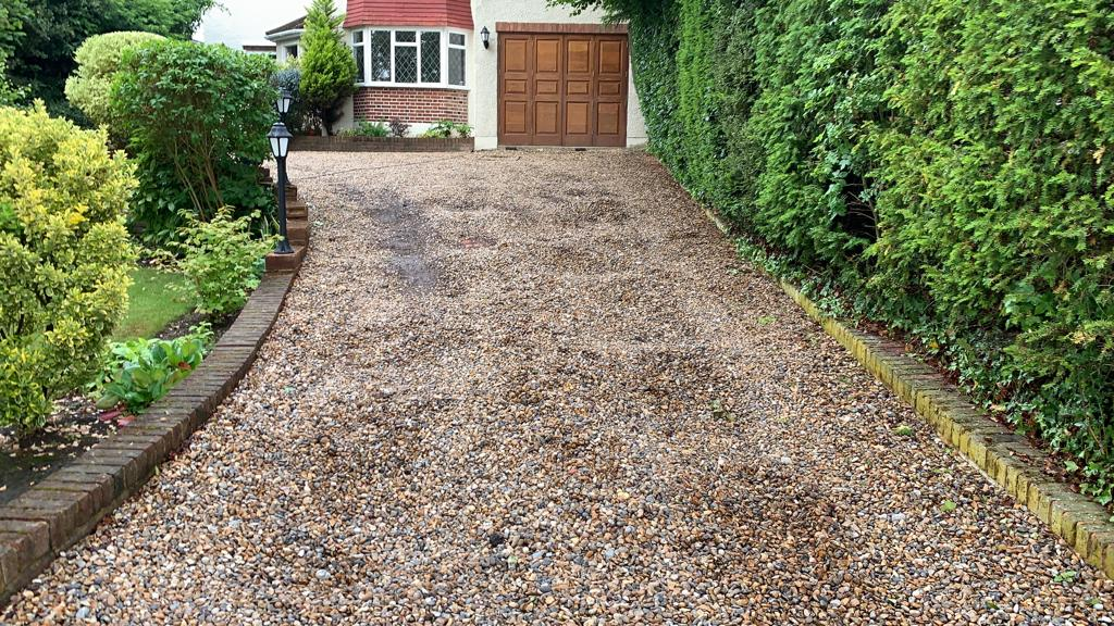 driveways essex block paving before