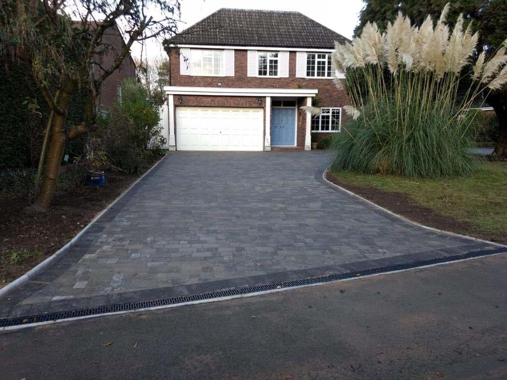 New Block Paving Driveway Arkley After
