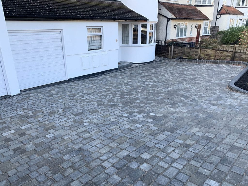 New Block Paving Driveway Mill Hill