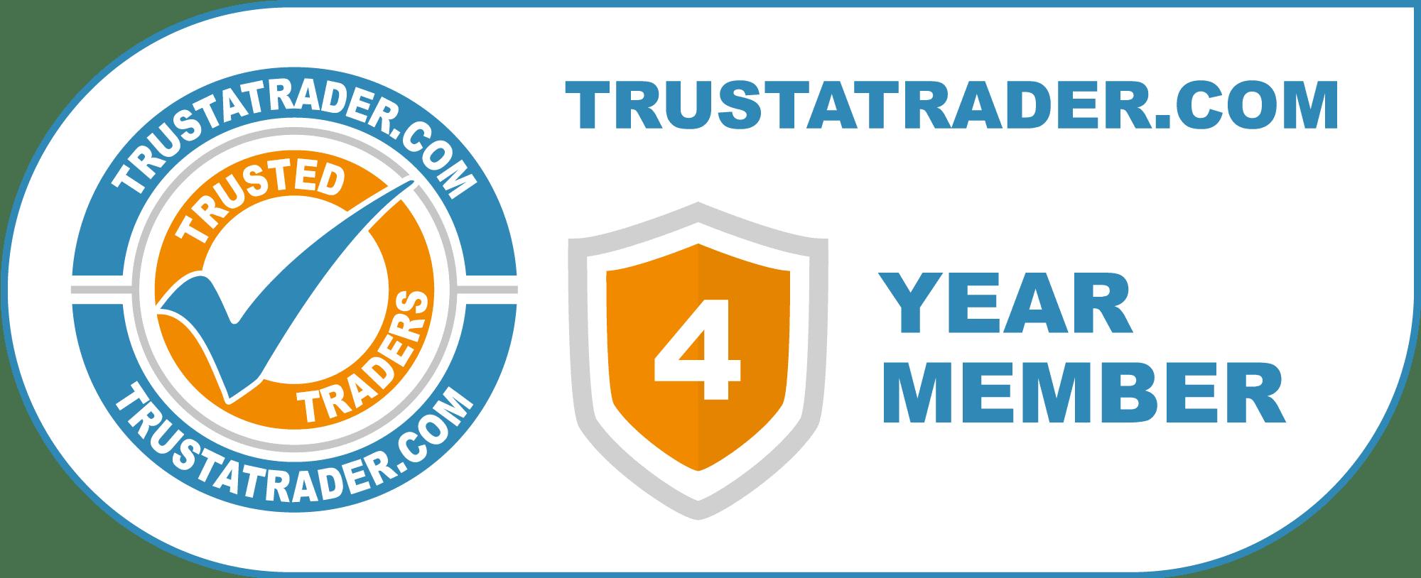 Trustatrader 4 year member logo