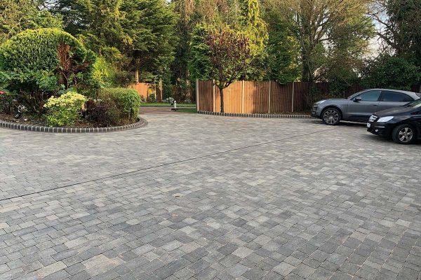 Hadley Wood Block Paving Driveway