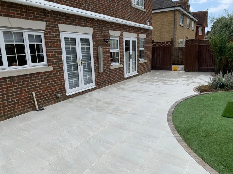Porcelain Patios London from Diamond Driveways