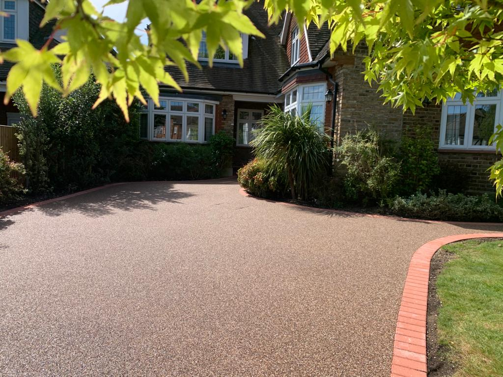 Sweeping Resin Driveway Southgate