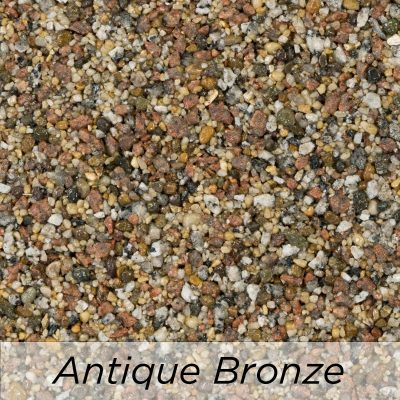 Driveway Resin Colour range from Diamond Driveways - Antique Bronze