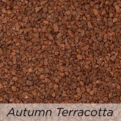 Driveway Resin Colour range from Diamond Driveways - Autumn Terracotta