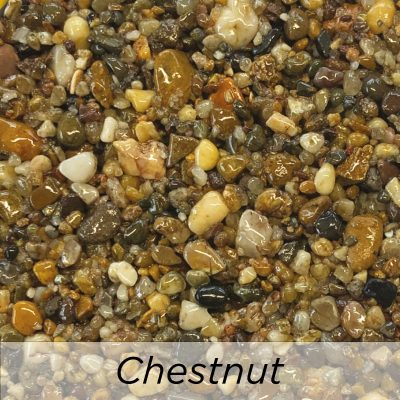 Driveway Resin Colour range from Diamond Driveways - Chestnut