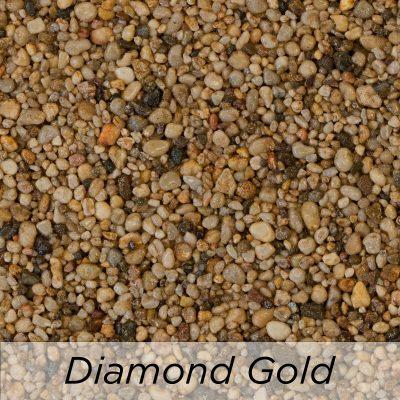 Driveway Resin Colour range from Diamond Driveways - Diamond Gold