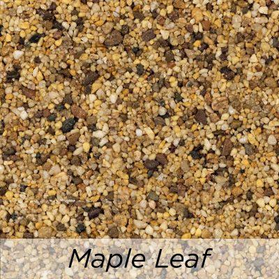Driveway Resin Colour range from Diamond Driveways - Maple Leaf