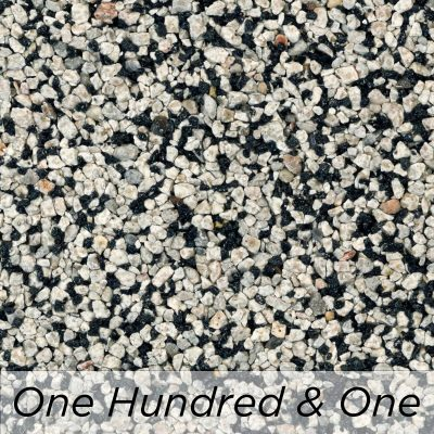 Driveway Resin Colour range from Diamond Driveways - One Hundred & One