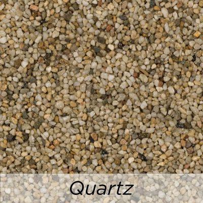 Driveway Resin Colour range from Diamond Driveways - Quartz