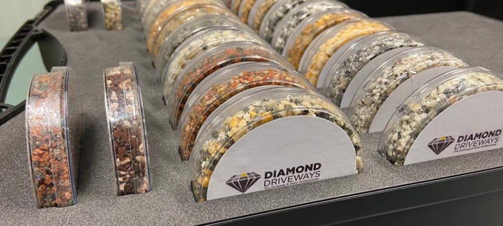 Resin Driveway Colour Diamond Driveways Sample Box