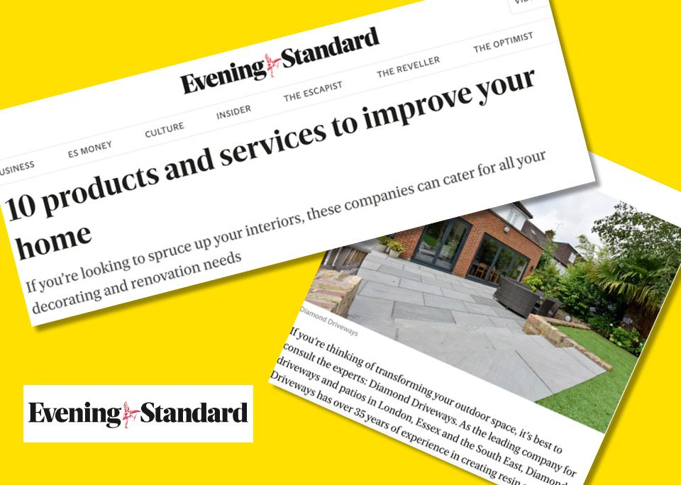 Evening Standard Products and Services To Improve Your Home - Diamond Driveways